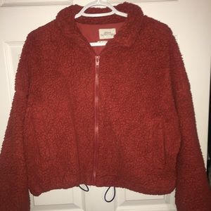 Urban outfitter fluffy jacket